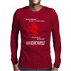 Michael Caine Get Carter Now behave Yourself Mens Long Sleeve T-Shirt