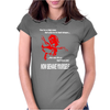 Michael Caine Get Carter Now behave Yourself Womens Fitted T-Shirt