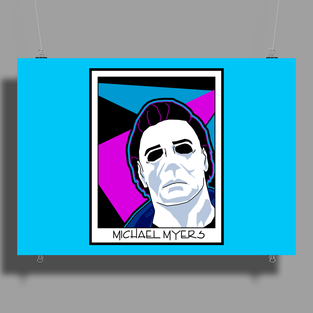Michael Myers in the 1980's Poster Print (Landscape)