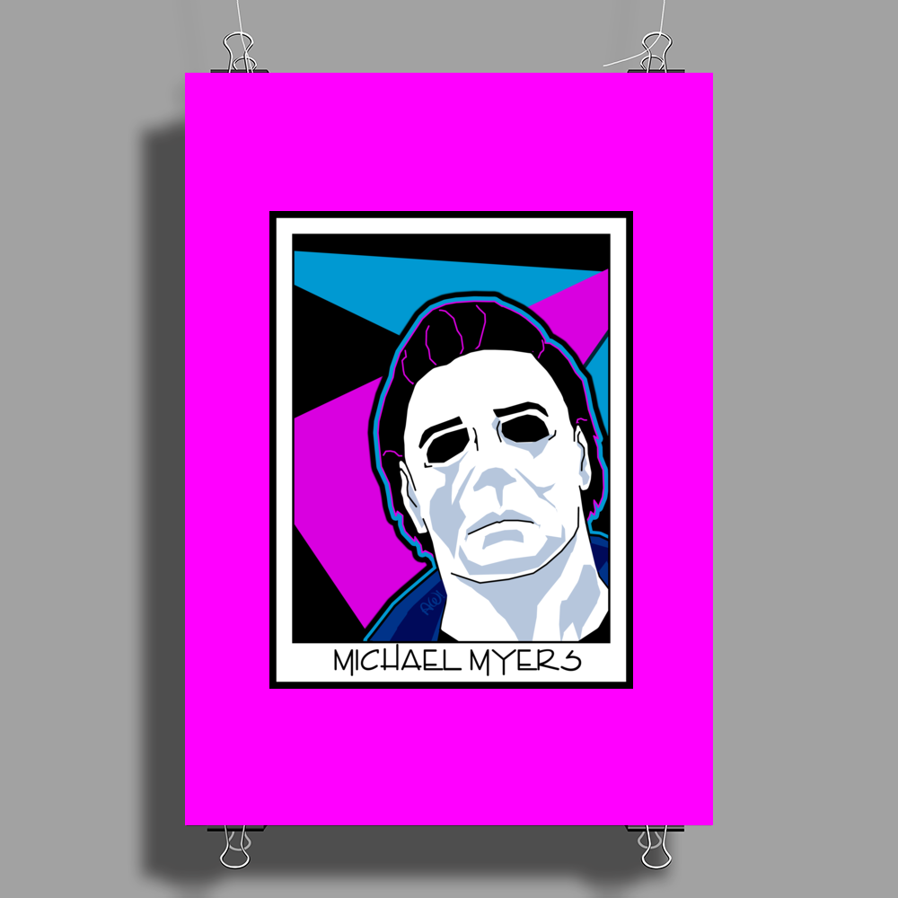 Michael Myers in the 1980's Poster Print (Portrait)