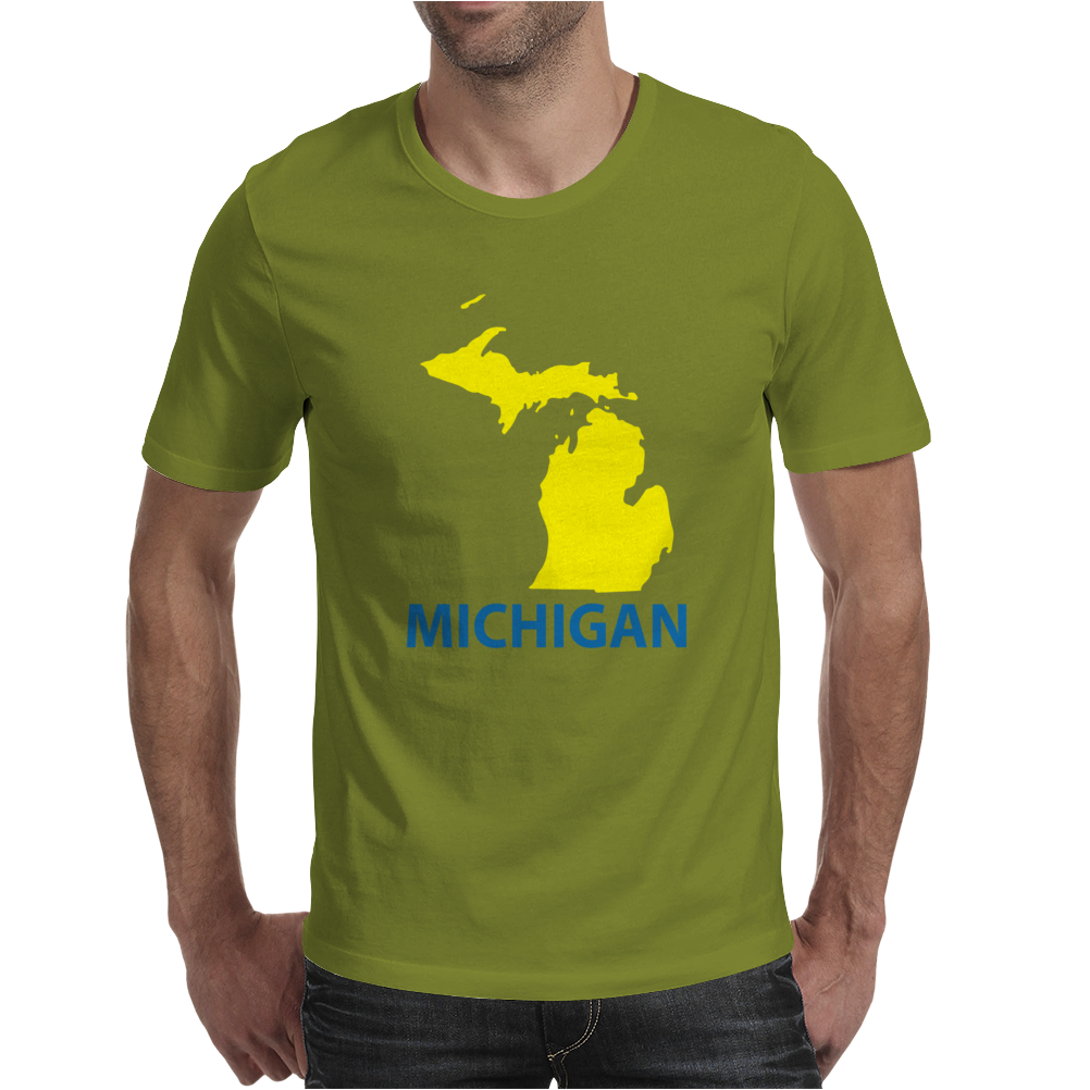 MICHIGAN Mens T-Shirt