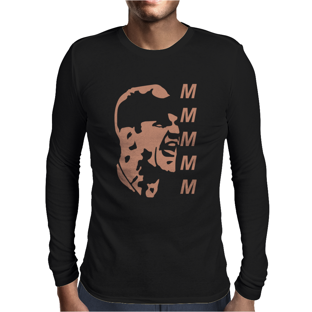 Michigan Wolverines Jim Harbaugh` Mens Long Sleeve T-Shirt