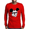 Mick The Mouse Terminator Mens Long Sleeve T-Shirt
