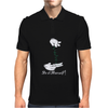 MICKEY HANDS ROLLING WEED MARIJUANA Mens Polo