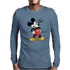 Mickey Mesmerized Mens Long Sleeve T-Shirt