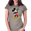 Mickey Mesmerized Womens Fitted T-Shirt