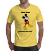 Mickey Mouse angry   Mens T-Shirt