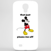 Mickey Mouse angry   Phone Case