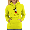 Mickey Mouse angry   Womens Hoodie