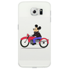 Mickey Mouse On Motorcycle cell Phone Case