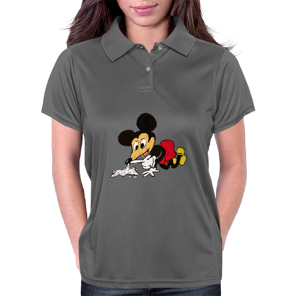 Mickey Snorts  Womens Polo