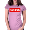 MICKEY SWAG HANDS Womens Fitted T-Shirt
