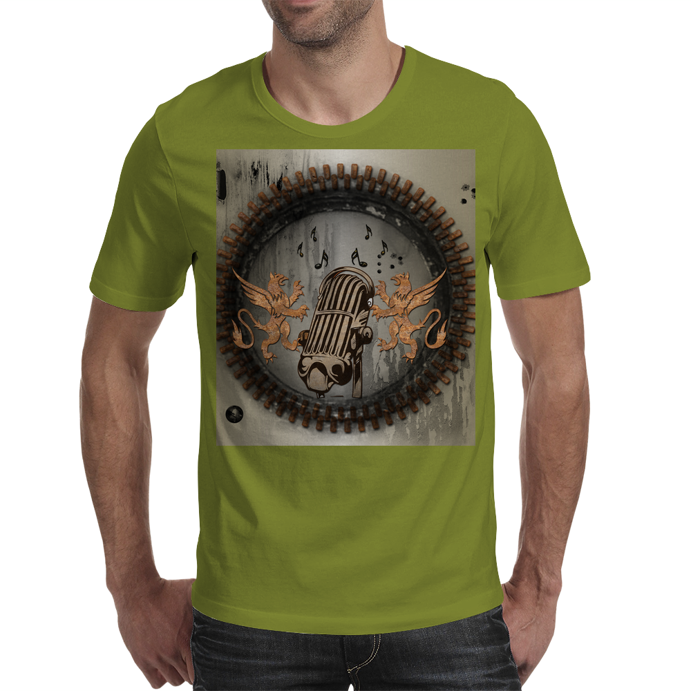 Microphone Mens T-Shirt