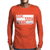 Mid and Feed Mens Long Sleeve T-Shirt