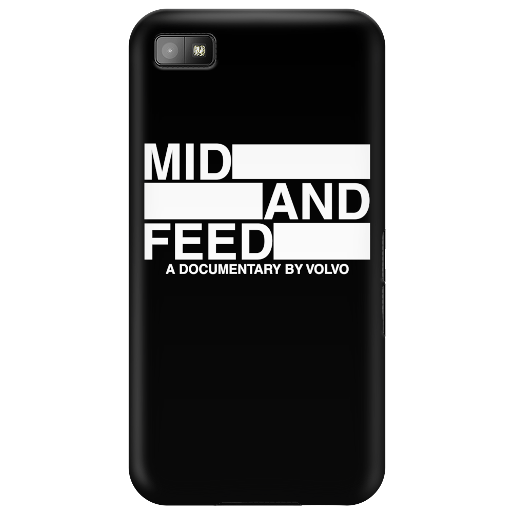 Mid and Feed Phone Case