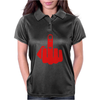 Middle finger Womens Polo