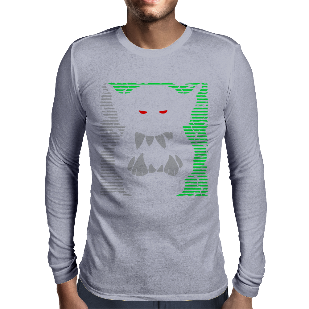 Mighty Ork Orc Ogre Warrior Mens Long Sleeve T-Shirt