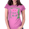 Mighty Ork Orc Ogre Warrior Womens Fitted T-Shirt