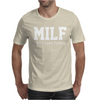 Milf Man I Love Fishing Funny Porn Fisherman cool Mens T-Shirt