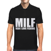 MILF Man I Love Fishing Mens Polo