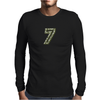Military #7 CAMO Mens Long Sleeve T-Shirt