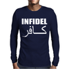 MILITARY ARMY INFIDEL Mens Long Sleeve T-Shirt