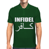 MILITARY ARMY INFIDEL Mens Polo