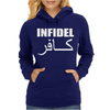 MILITARY ARMY INFIDEL Womens Hoodie