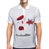 Military Cat Mens Polo