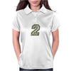 Military Number 2 - Camo Womens Polo