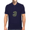 Military Number 3 - Camo Mens Polo
