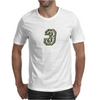 Military Number 3 - Camo Mens T-Shirt