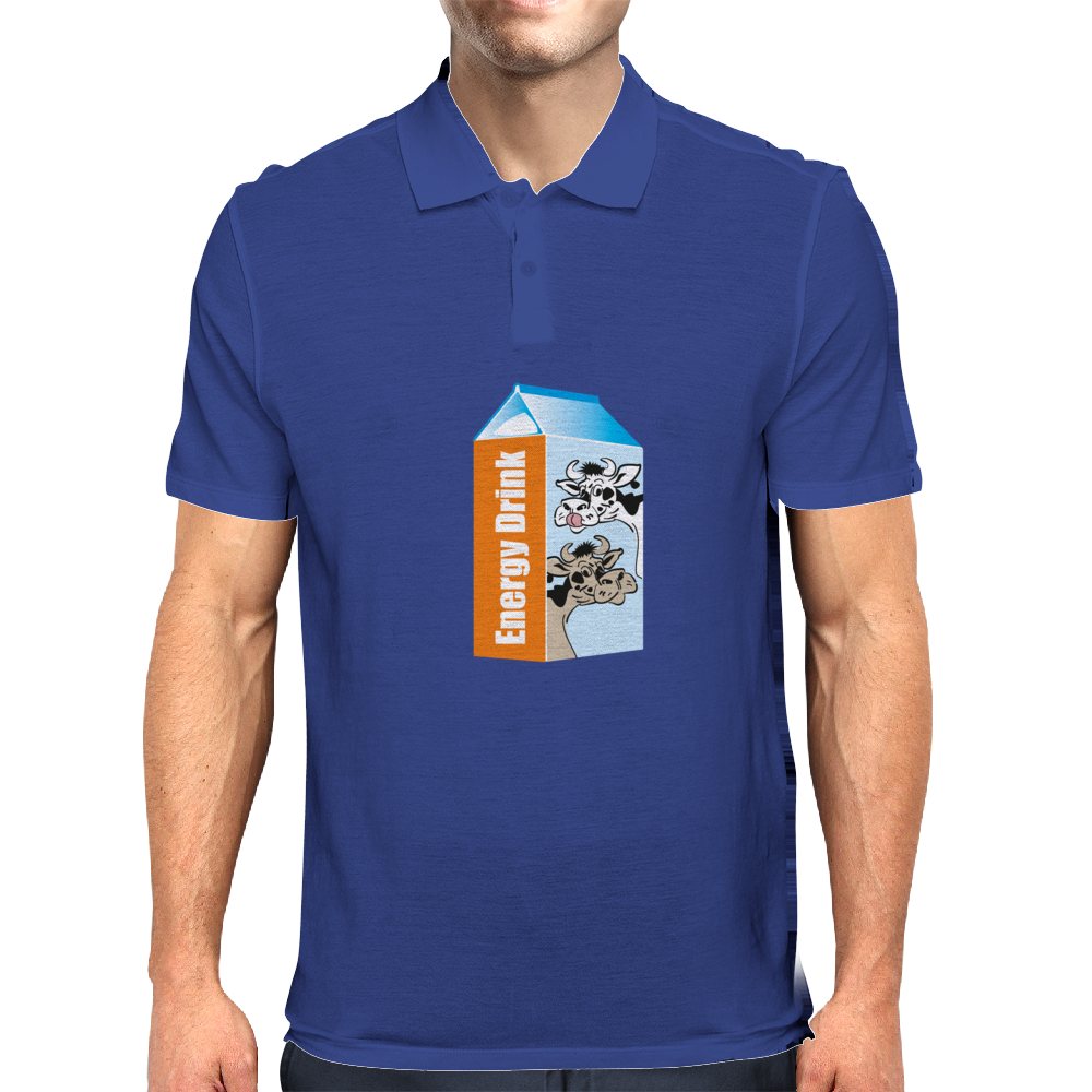 Milk – your Energy Drink Mens Polo