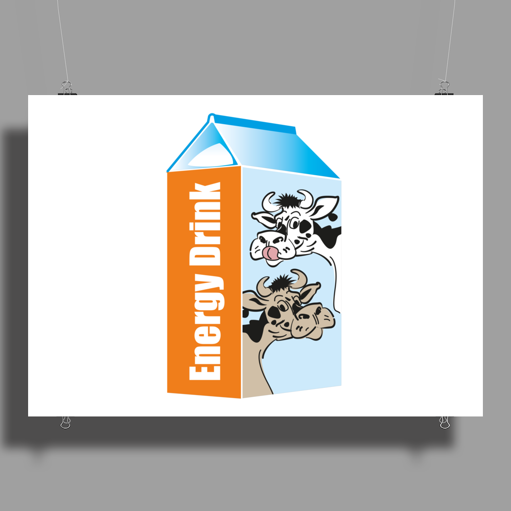 Milk – your Energy Drink Poster Print (Landscape)