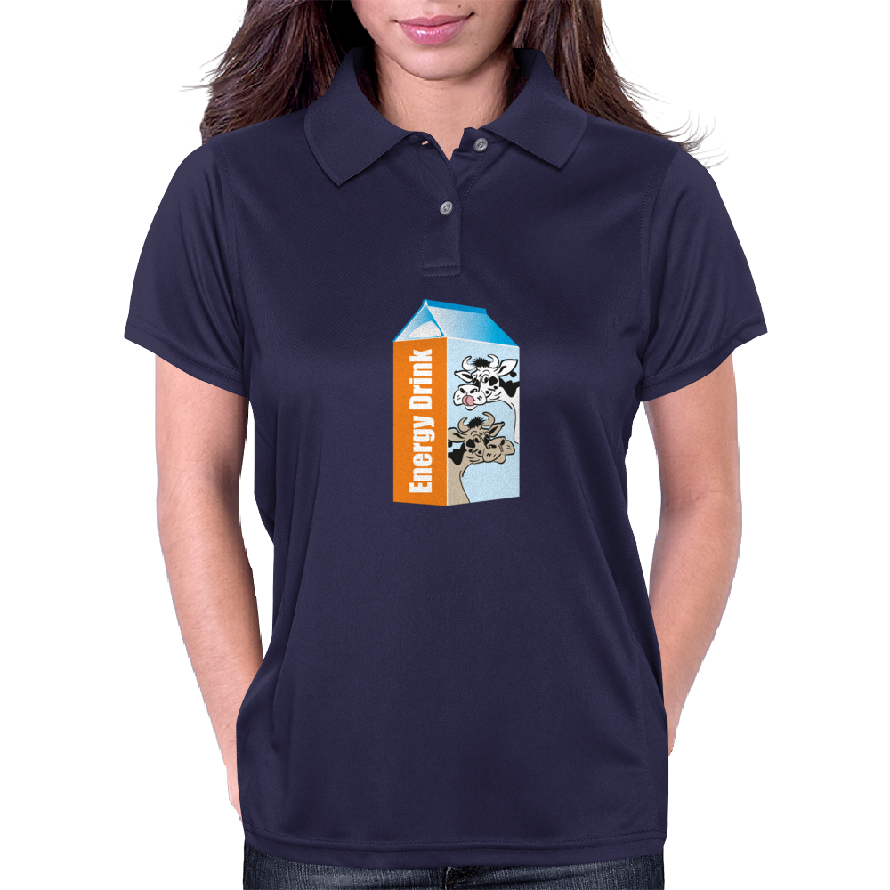 Milk – your Energy Drink Womens Polo