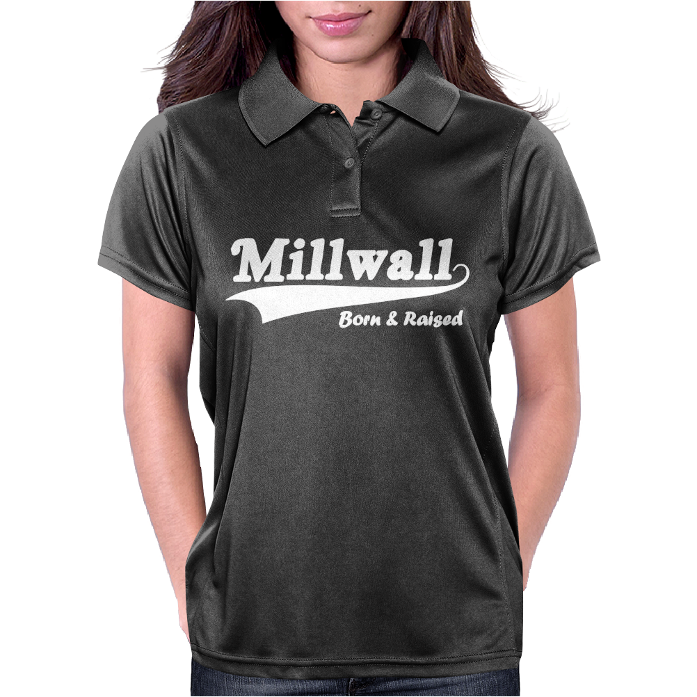 Millwall Born and Raised Retro Womens Polo