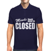Minds Should Never Be Closed Mens Polo