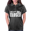 Minds Should Never Be Closed Womens Polo