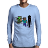 Minecraft fresh adventure Mens Long Sleeve T-Shirt