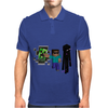 Minecraft fresh adventure Mens Polo