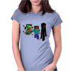 Minecraft fresh adventure Womens Fitted T-Shirt