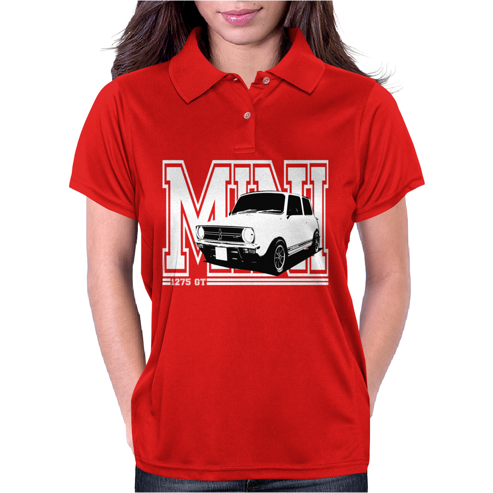 Mini 1275 GT Men's Classic Car Womens Polo