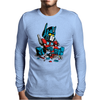 mini robot Mens Long Sleeve T-Shirt