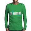 Minimal Berlin Mens Long Sleeve T-Shirt