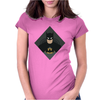 Minimalist Batman Womens Fitted T-Shirt