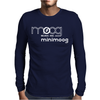 Minimoog Mens Long Sleeve T-Shirt