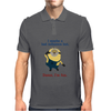 Minion Bad Influence Mens Polo