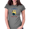 Minion Bad Influence Womens Fitted T-Shirt