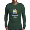 Minion Borge Star Trek Resistance is Futile Despicable Me Mens Long Sleeve T-Shirt