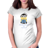 Minion Borge Star Trek Resistance is Futile Despicable Me Womens Fitted T-Shirt
